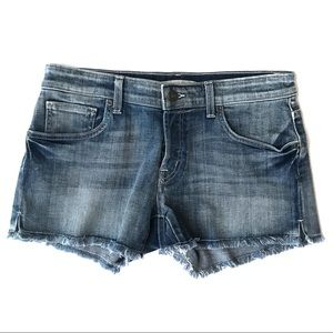 Rich & Skinny Shorts - RICH & SKINNY Light Wash Cutoff Denim Short Sz 29